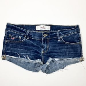 Hollister Distressed Shorts Size 3
